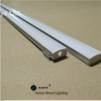 Wholesale Sunny Light - 10set lot 2m led aluminium profile for led bar light, led strip aluminum channel, waterproof aluminum housing Sunny Wood YD-1205-F