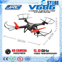 Wholesale V686 Drone - 100% Brand JJRC WLtoys V686 FPV Headless Mode 4CH Drone RC Quadcopter with HD 720P RTF 2.4GHz with 2MP Camera