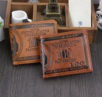Wholesale Wallet For Men Wholesale - 2015 fashion men dollar purse wallet mix leather designer creativity card holders wallets for men mens wallet wholesale
