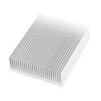 Wholesale Heat Sink Case - Wholesale- Silver Tone Aluminium Radiator Heatsink Heat Sink 150x80x27mm