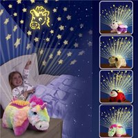 Wholesale Kid Pillow Pet - Plush Toys Soft Plush Toy Princess Toys Gifts Soft Toys Cute Animal Lites Childrens Toy Cuddly Pet Pillow Cushion Dream Night Light Bed