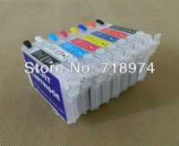 Wholesale Epson Photo Ink Cartridge - New Arrival ! Printer ink cartridge for Epson STYLUS PHOTO R800 R1800 with ARC chips 8 color set