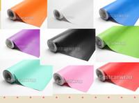 coches de color mate al por mayor-Varios envoltura de vinilo de satén con la liberación de aire de alta calidad para la película mate de la cubierta del envoltorio del coche 14 rollo disponible de color de 1.52x30m / 5x98ft