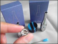fio térmico duplo venda por atacado-Vaporizador cera dupla bobina fio de aquecimento de cerâmica orb aço inoxidável O canhão V1.2 atomizador exgo wad dab atomizador bobinas duplas para o ego evod V2