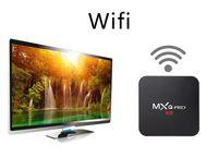 mídia android hdmi usb venda por atacado-MXQ Pro 4 K Android 7.1 TV Box Rockchip RK3229 Quad Core 1 GB 8 GB Inteligente de Streaming Media Player suporte 3D IPTV HDMI Set Top Box