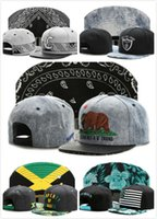Wholesale Snapback Hats Compton - Brandnew Snapback hats PRAY FOR COMPTON PROPERTY OF JAMAICA BONJOUR BROOKLYN Casquettes gorras bones baseball caps