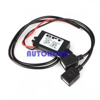1 X 12V a 5V USB DC-DC Buck Convertitore di alimentazione dell'automobile dell'automobile per l'ordine di $ 18no