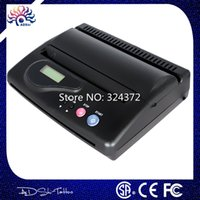 Wholesale Thermal Tattoo Printer Paper - Wholesale-Free Shipping High quality Cheap Black Original USB Tattoo Thermal Transfer Copier Printer Stencil Machine use A4 transfer paper
