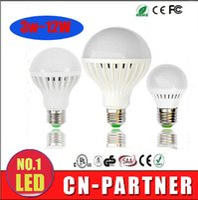 Wholesale Pendant Spotlights - IN stock LED Bulbs 3W 5W 7W 9W 12W smd 5730 LED E27 Lights Light Globe ball Lamp Lighting Bulb Spotlight Pendant light 110V 220V free ship