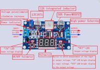módulo de aceleração venda por atacado-Atacado-prático 3 ~ 35V para 3.5 ~ 35V 100W ajustável DC-DC Step-up Boost Conversor Voltage Module # 61105