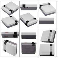 jugador de cartas av al por mayor-La nueva llegada mini TV puede almacenar 620 500 consola de juegos de vídeo portátil para las consolas de juegos de NES con los rectángulos de venta al por menor de DHL