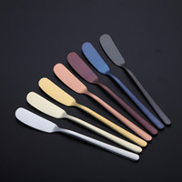 Wholesale knives fda for sale - All stainless steel butter knife Multi purpose Stainless Steel Butter Knife Jam Cake knife jam butter cake spatula Home kitchen supplies