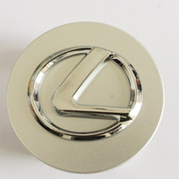 Wholesale Logo Center Cap - Lexus Wheel Center Logo 63mm Cap Wheel Center Caps Cover for Lexus IS200 IS300 RX300 RX330 RX350 RX270 ES350 LS460L GS IS460