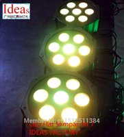 stage machinery - Fast Shipping LED SlimPar Tri RGB LED Stage Wash Uplighting Machinery IDEAS