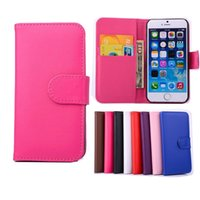 Wholesale Wholesale Weave Credit - For iphone 5 6 6plus Plain Weave Wallet PU Flip Leather Case Cover with Credit Card Slot Holder For iphone6 plus 5S