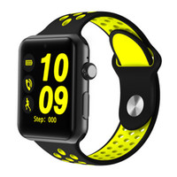 Wholesale arc green - 2018 Bluetooth Smart Watch DM09 Plus 2.5D ARC HD Screen Support SIM Card SmartWatch Magic Knob For IOS Android System.
