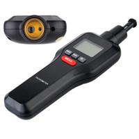 Wholesale Digital Machine Laser - Wholesale-Digital Laser Tachometer Tach RPM Tester Handheld Motor Electrical Machine Rotate Speed Meter Wide Measuring Range 2-99999RPM