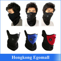 Wholesale Mask Winter Warm - Hot Sale New Neoprene Winter Warm Neck Half Face Mask Windproof Veil Sport Snow Bike Motorcycle Ski Guard