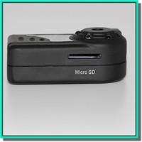Wholesale Tf Card Interface - 2015 new design hot sale portable black mini spy camera with night vision and TF card interface can photo camera and record voice