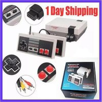 Wholesale Faster Games - Fast delivery mini TV Video Handheld Game Consoles Entertainment System Built-in 500 600 620 Games For Nes Classic Games PAL NTSC OTH002