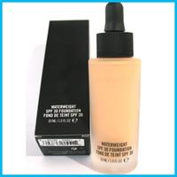 Wholesale Pa Lights - HOT NEW Makeup Face Studio Waterweight SPF 30 PA++ Foundation Fond de teint 30ML High Quality