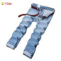 Wholesale New Fashion Style Clothes - Wholesale-Hot Sales!2015 Men's Jeans Fashion Jeans Mens Clothing For Summer Style Brand Denim New 2015 Famous Brand True Sports 28-40