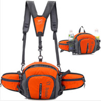 Wholesale Double Shoulder Waist - Outdoor waist pack ride hiking bag multifunctional double-shoulder sports cross-body 8l