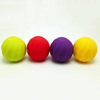 Wholesale Lip Balm Case Wholesalers - New Arrival Ball shape empty lip balm container cosmetics 7g lip gloss holder cream jars DIY Eye Gloss Cream Sample Case
