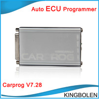 Wholesale Ecu Immobilizer - 2017 Universal Diagnostic Tools V7.28 CARPROG with all 21 adaptors car prog for radios,odometers,dash,Immobilizers tool DHL Free Shipping