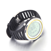 Wholesale Barometer Compass Watch - Sunroad FR802A 5ATM Waterproof Altimeter Compass Stopwatch Fishing Barometer Pedometer Outdoor Sports Watch Multifunction