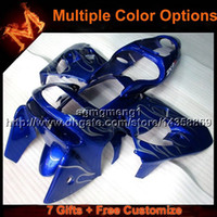 23colors + 8Gifts BLUE для капота для Kawasaki ZX9R 1998-1999 ZX9-R 1998 1999 ABS Plastic Fairing ZX 9R 1998 1999