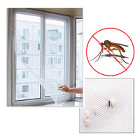 2 M * 1.5 M Autoadhesivo Anti-mosquitos Net DIY Flyscreen Cortina Insecto mosca Mosquito Bug Mesh Window Screen Home Supplies