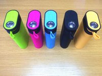 Wholesale Radio Torch Light - TG06 Bluetooth Speaker 5 in 1 Power Bank Mini Portable Handsfree 4400mAh Charger with LED Flash light Stereo Music MP3 Player TF FM Torch