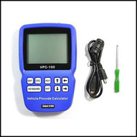 Wholesale Original Calculator - Wholesale-2015 Newest Product ! 100% Original Superior VPC-100 Hand-Held Vehicle PinCode Calculator with 300+200 Tokens Free Shipping