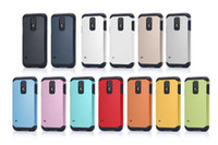 Wholesale Sgp Galaxy S3 - hot selling !!! sgp tought armor cover case for samsung galaxy S5 S4 S3 i9600 i9500 i9300 phone case 2 in 1 hard PC soft TPU case