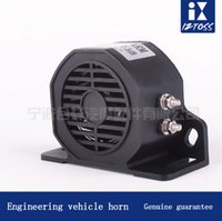 Wholesale Horn Engineering - Tricycle car truck horn reversing engineering machinery vehicle reversing 12-80V motorcycle horn Sonorous voice Durable Earthquake resistanc