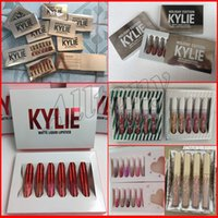 Wholesale Valentine Wholesale - Kylie Jenner Gold Limited Edition i want it all Birthday send me more nudes Matte velvet Lipstick holiday valentine sugar spice lip Kit
