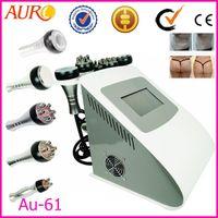 Wholesale Cavitation Ultrasound Machine Price - Au-61 Ultrasound skin tightening massage body slimming ultrasonic tripolar RF Radio Frequency Cavitation machine factory price