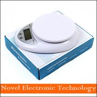 Wholesale Digital Mills - Free shipping 2014 New 5kg 5000g 1g Digital Kitchen Food Diet Postal Scale