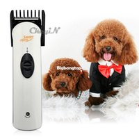 Wholesale Electric Pet Dog Hair Clipper - 1509 Electric Cordless Pet Dog Cat Hair Trimmer Rechargeable Hair Clipper Haircut Machine Dog Grooming For Pet Dogs Cats RCS46-P4547