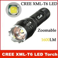 UltraFire 12W 1600lm CREE XML T6 LED Flashlight zoomables réglable torche 5- mode