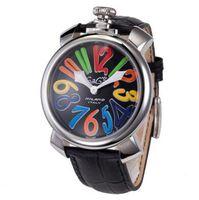 Wholesale Watch Gaga - Fashion gaga watch 3D number 46mm large dial steel case luxury wrist watches quatz watch