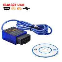Mini ELM327 ODBII SCAN USB Car Tipo di scanner strumento diagnostico Scanner B