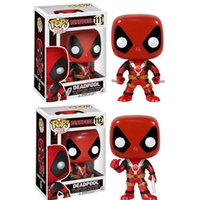 Genuine Deadpool Thumb Up # 112 # 111 Figura della Figura Di Bubble Giocattolo Vinile Popco del Pop di Funko