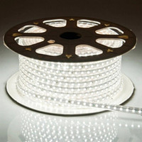 Wholesale Flex Rope - 100m 110V 220V Led Strips smd 5050 LED rope light IP67 Flex LED Strip lights Outdoor Lighting string Disco Bar Pub Christmas Party