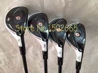 Wholesale Rescue Clubs - 2015 new golf clubs R15 hybrid rescue 2# 3# 4# 5# 4pcs lot R15 golf hybrid free golf headcover R15 rescues