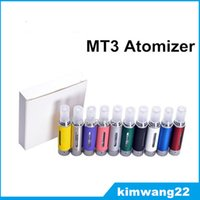 Wholesale Evod Bcc Mt3 Cartomizer Dhl - MT3 Clearomizer 2.4ml eVod BCC MT3 Electronic Cigarette rebuildable Atomizer bottomcoil tank Cartomizer for EGO EVOD battery free DHL