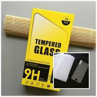 Wholesale note screen shield resale online - For Iphone s s plus shield Screen Protector Film Tempered Glass For S6 Samsung S7 For iPhone plus iphone S Samsung S5 Note SONY LG