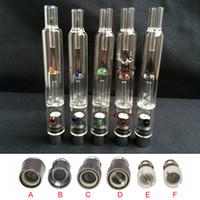 glas-huka-zigarette großhandel-Pyrexglas-Wasser-Zerstäuber-Huka-Glasbong-rauchende Rohre E-Zigaretten trocknen Kraut-Wachs-Zerstäuber-Kräuterverdampferstift für Batterie EGO EVOD