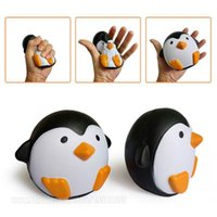 Wholesale Free Toys - Penguin Squishy Decompression Perfume Toy Simulation Relax Pretty Decor Spicy Toys Jumbo Slow Rising Squishies Free Shipping SQU005